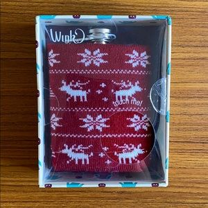 Winter Sweater Flask